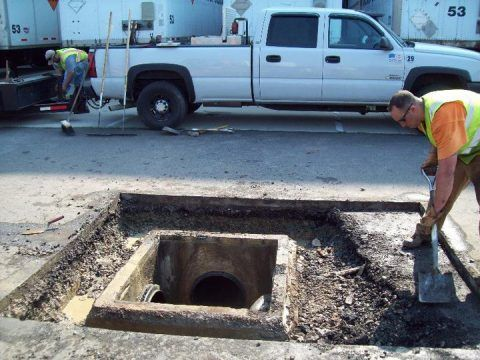 C&L Services offers emergency catch basin repair
