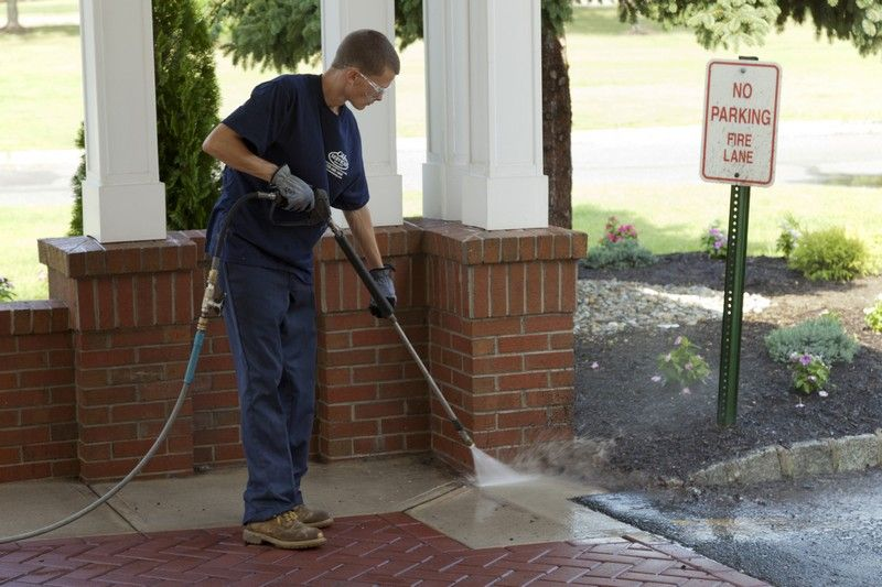 power washing spring clean up services