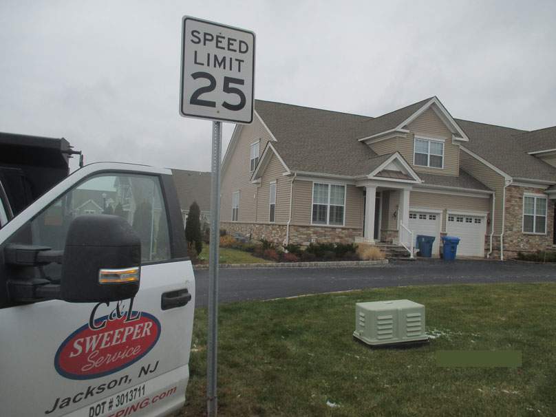 Traffic Signs in New Communities