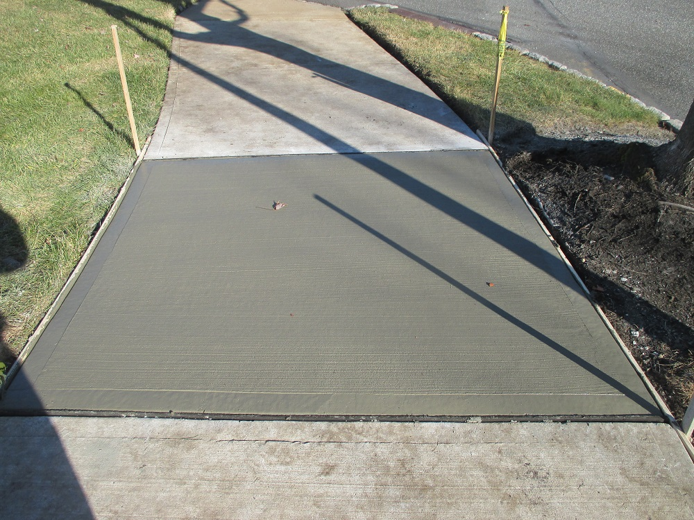 sidewalk concrete repair