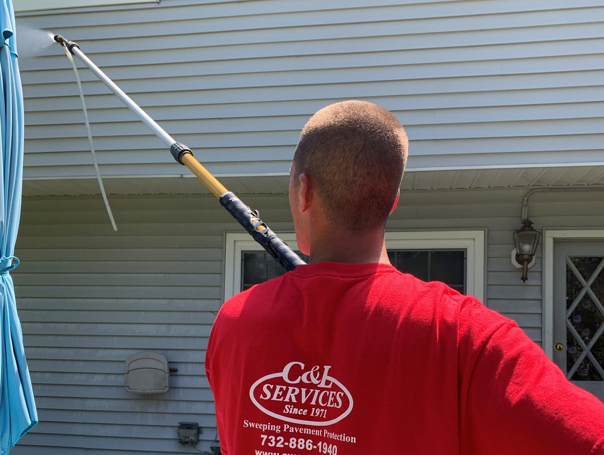 power washing services by C&L Services residential and commercial power washing