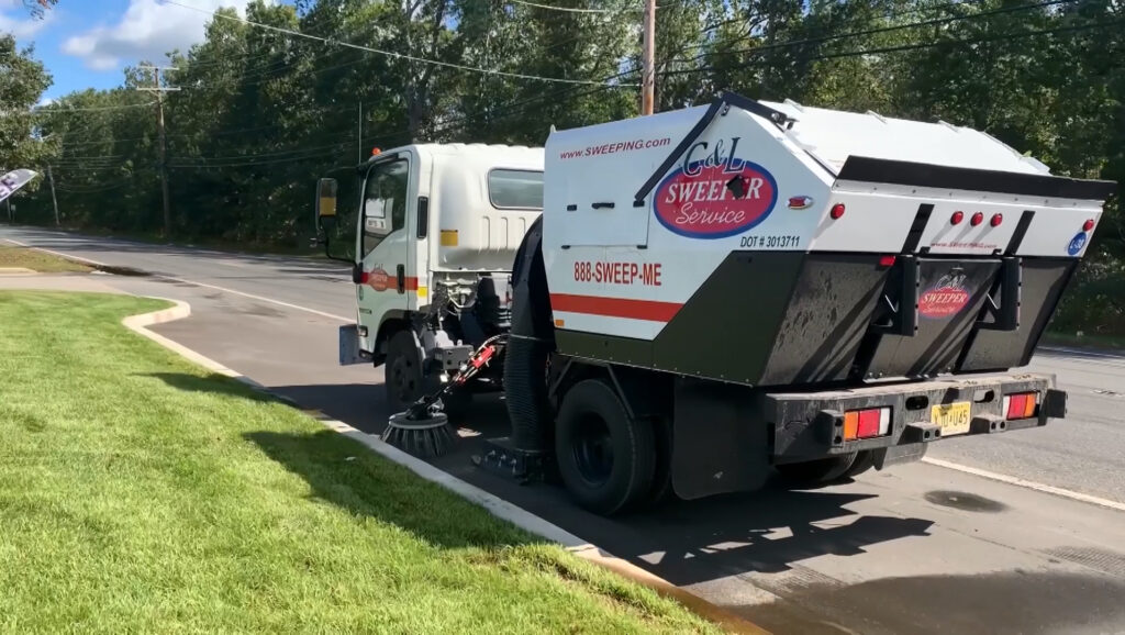 routine street sweeping is the key to an effective pavement maintenance plan