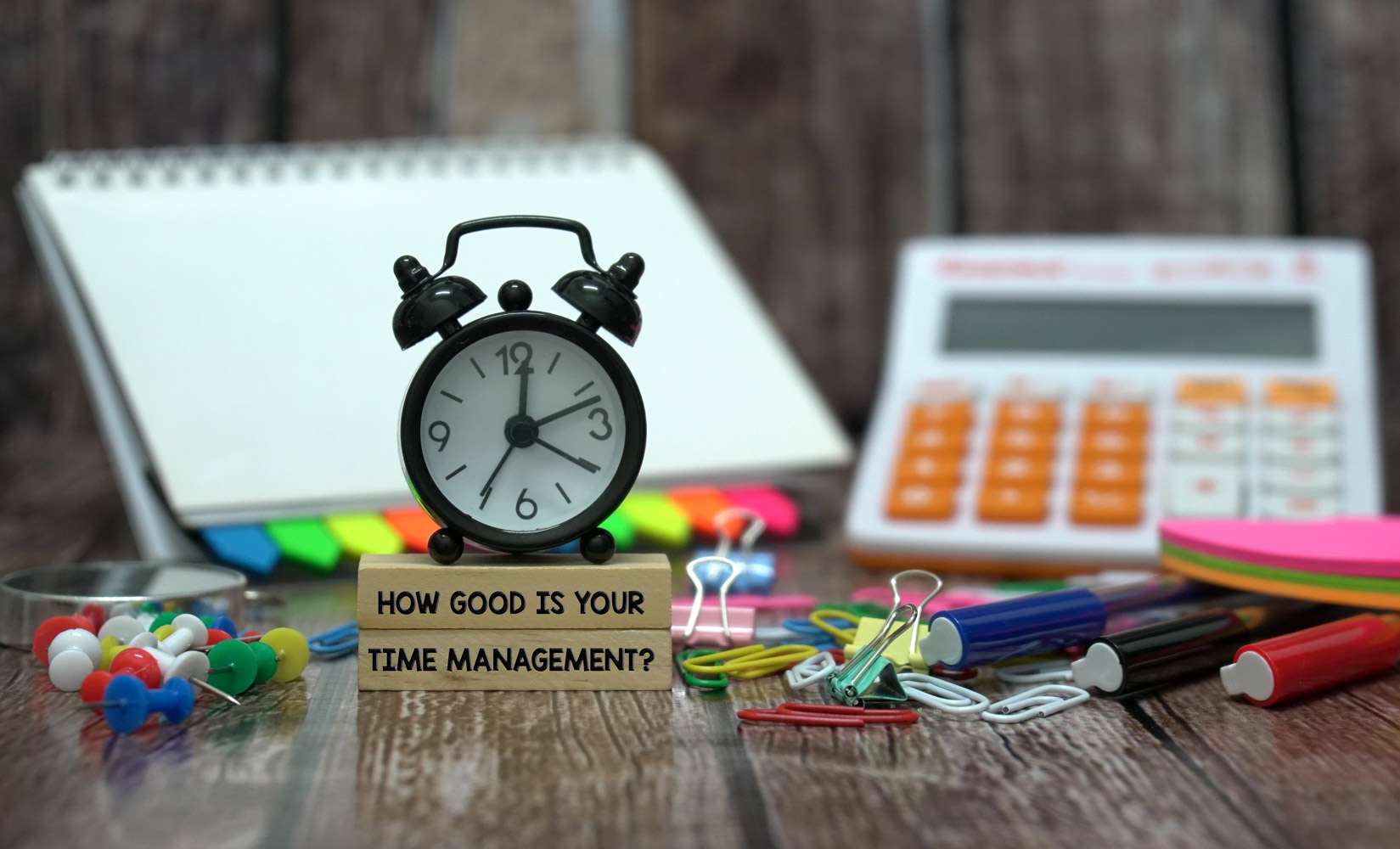 EARLY LESSONS IN TIME MANAGEMENT