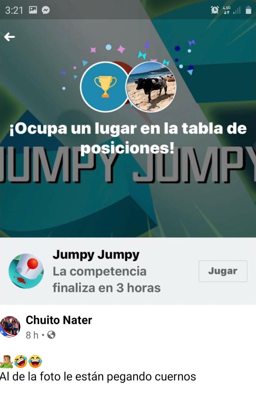 NUEVA APLICACION EN REDES PROVOCA PLEITOS Y MOLESTIA ES JUMPY-JUMPY