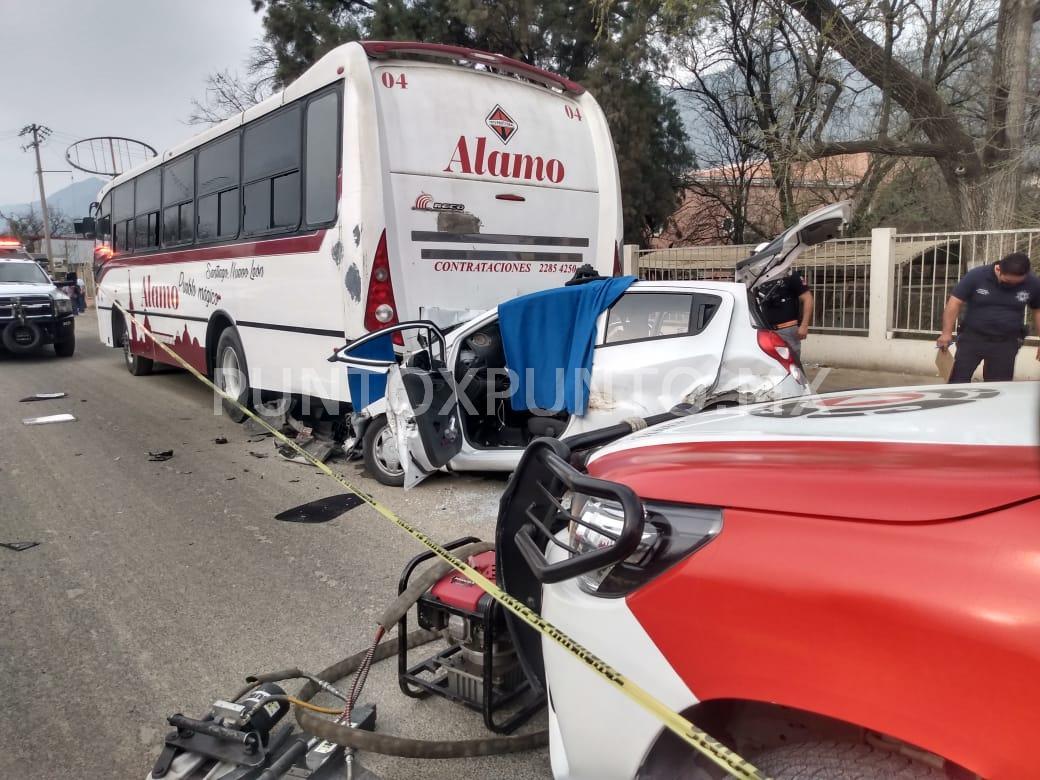 MUERE TERCER VÍCTIMA DE ACCIDENTE VIAL EN SANTIAGO.