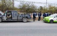 RECUPERA POLICÍAS Y TRÁNSITO DE CADEREYTA VEHÍCULO CON REPORTE DE ROBO, DETIENEN A UNO.