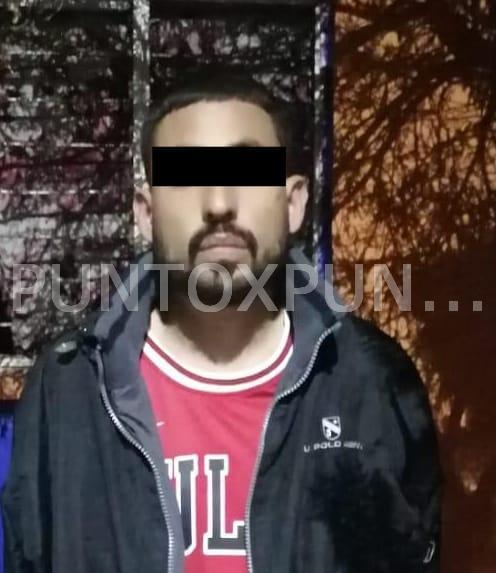 FUERZA CIVIL EN LINARES, DETIENE A UN HOMBRE CON DROGA.