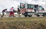 ACCIDENTE VOLCADURA EN CARRETERA NACIONAL EN MONTEMORELOS, REPORTAN PERSONAS LEISONADAS.