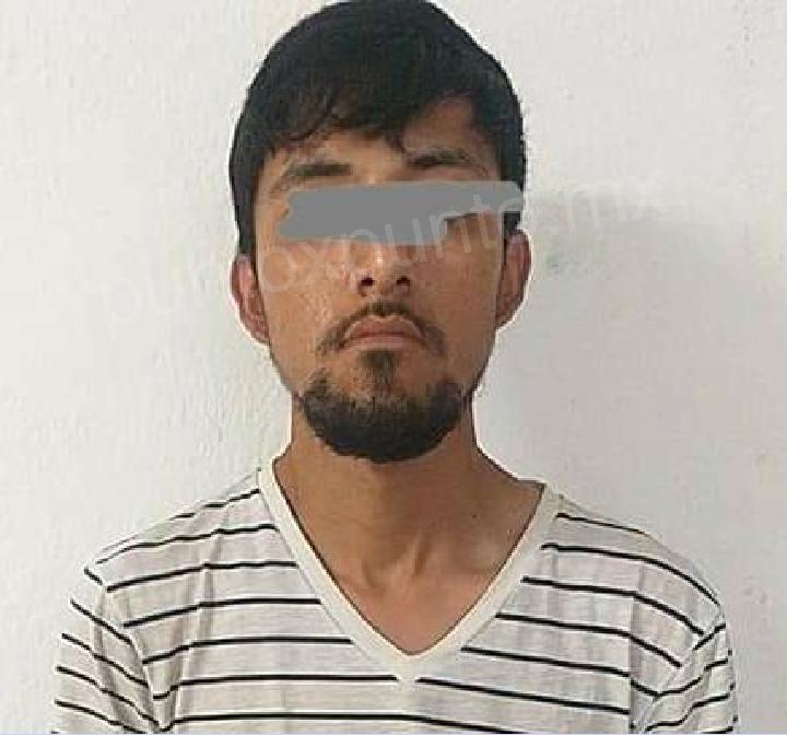 POR ROBO DE MEDIDORES DE AGUA, POLICÍAS DE LINARES LO DETIENEN.