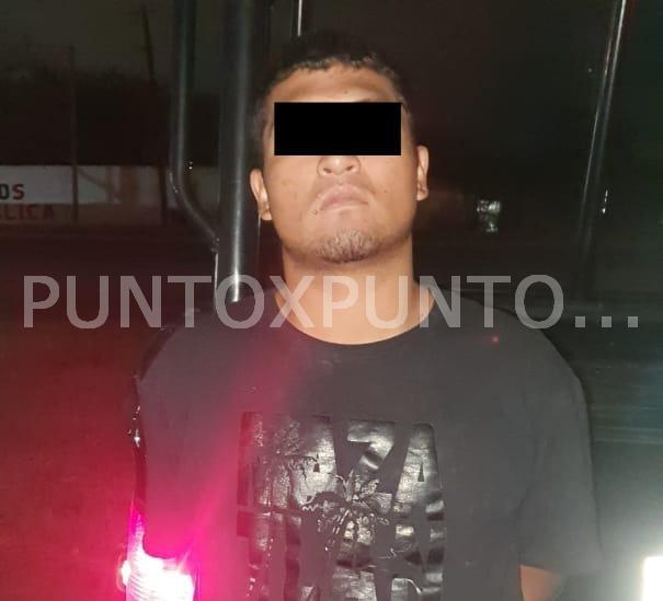 FUERZA CIVIL DETIENE A UN HOMBRE CON MAS DE 400 GRAMOS DE MARIHUANA Y UN ARMA DE FUEGO.