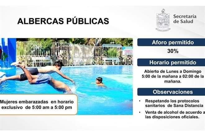 ANUNCIAN REAPERTURA DE ALBERCAS Y CARRERAS DE CABALLOS.