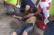 RESCATA PROTECCIÓN CIVIL Y CRUZ ROJA A UN HOMBRE QUE ESTUVO A PUNTO DE AHOGARSE EN RIO EN ALLENDE.