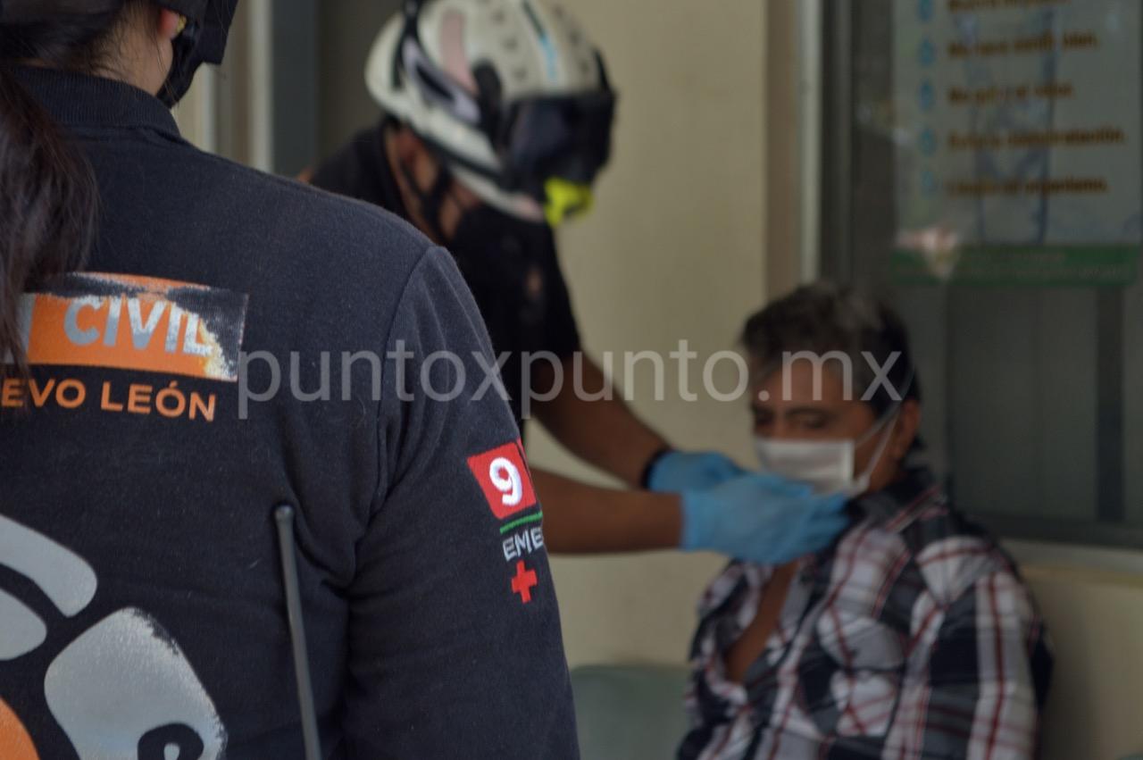 PROTECCIÓN CIVIL DEL ESTADO INTENSIFICÓ LA BÚSQUEDA DE HABITANTE DE TERAN LOGRAN UBICARLO.