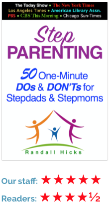 Step parent tips and information, step children, young children, teenagers