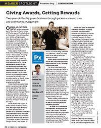 Aaron Moles' interview for Orthotics & Prosthetics Almanac