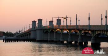 Bridge of Lions at Sunset