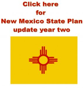 click here for New Mexico state plan update year two