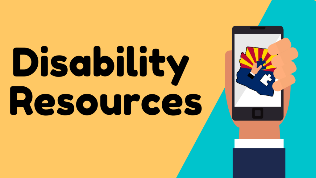 Disability resources page for self advocates