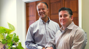 Picture of Joel D. Goldstein and Michael DiPaolo standing next to each other