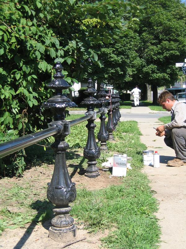 Park Fence Repair