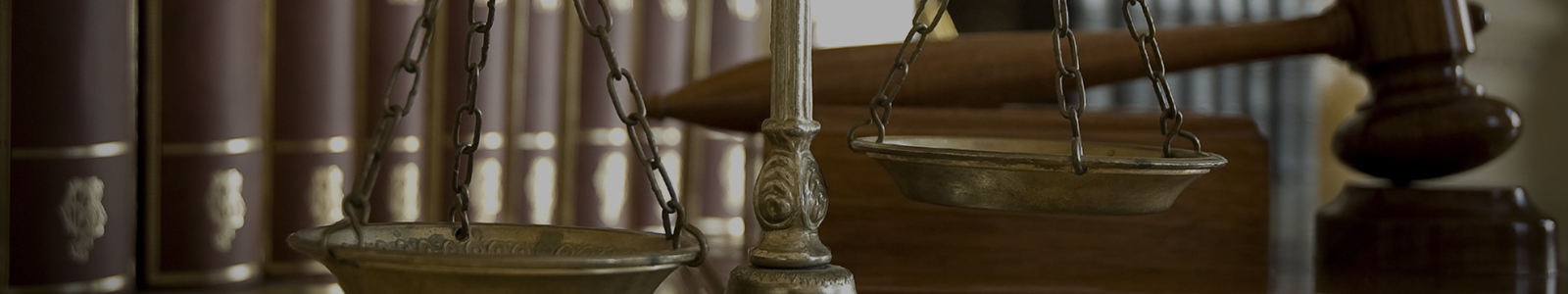Special Master Magistrate Judge Bench with Gavel and Books