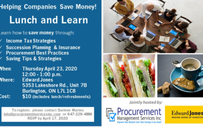 Lunch and Learn with Edward Jones