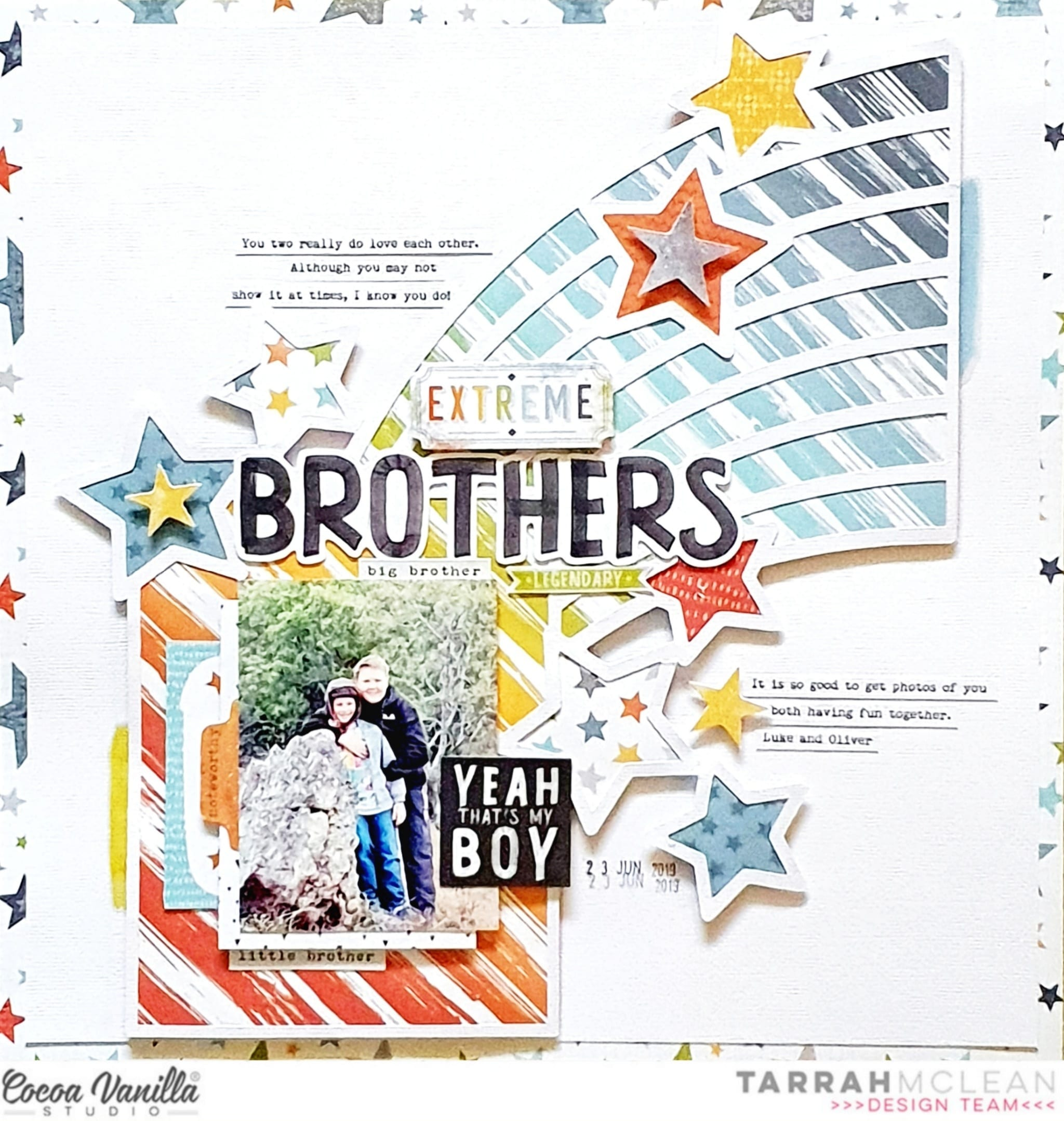 Brothers   Legendary collection   Tarrah McLean