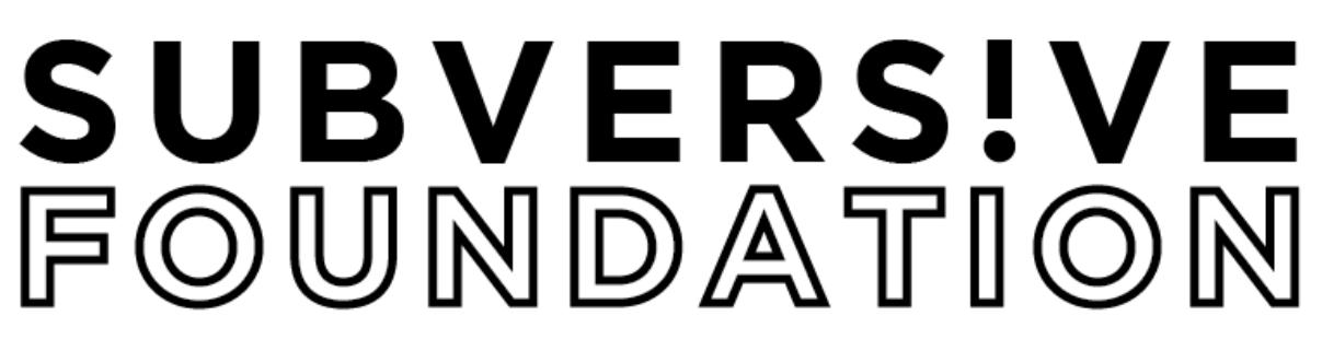 SUBVERS!VE Foundation