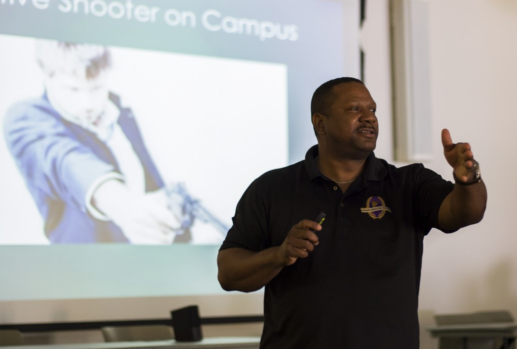 Active Shooter Training   Melvin McGuire