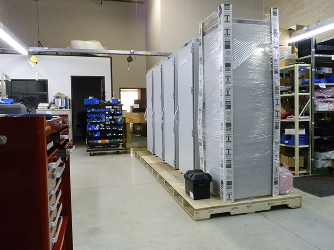 Cabinets in Production