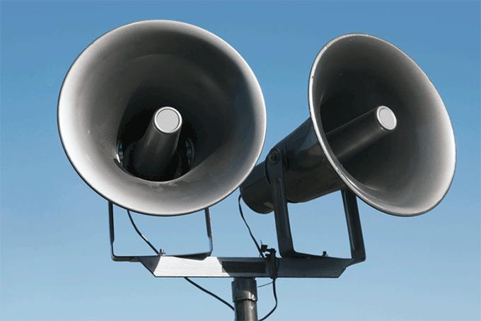 Loud Speakers for Emergency Communication