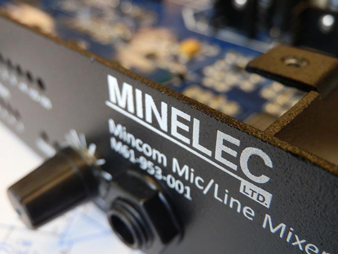 Minelec Mic/Line Mixer
