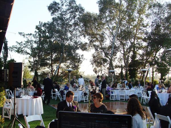 Falkner-Winery-Wedding-Reception-DJ-Set-up