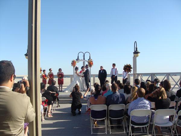 breakers-beach-wedding-dj-ceremony-set-up