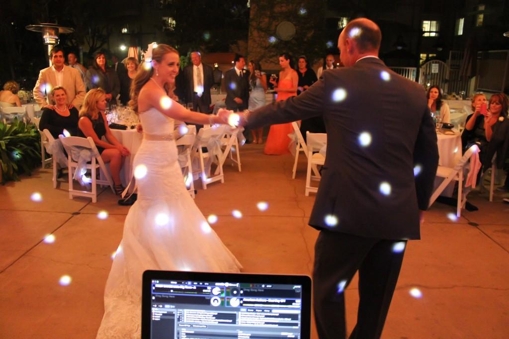 MY DJs Wedding Reception First Dance at Hilton Garden Inn Carlsbad