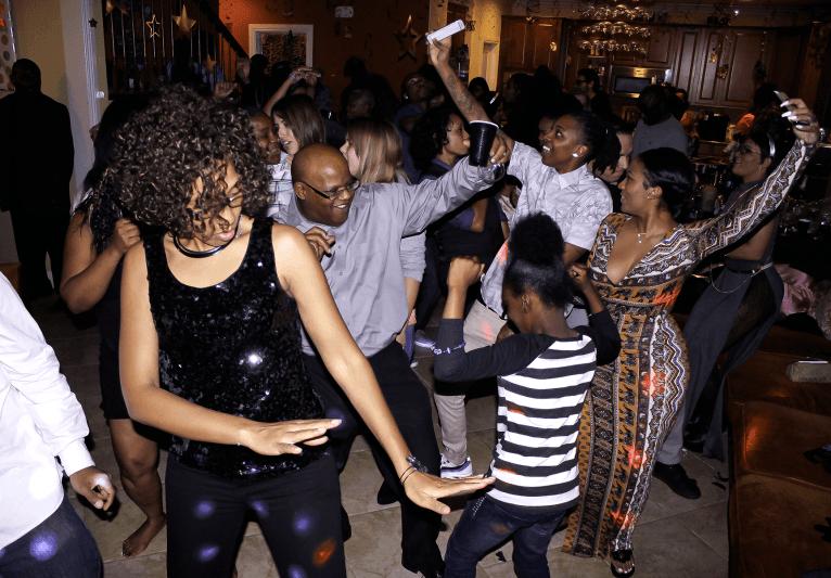 MY DJs New Years Eve House Party Dance Floor