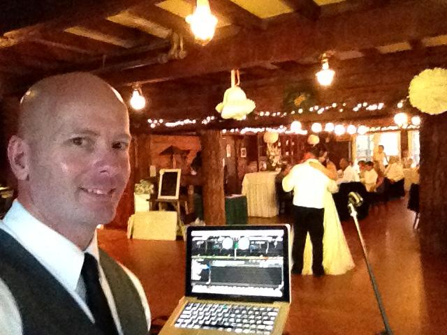 MY DJs Stephen Barth at Pine Hills Lodge