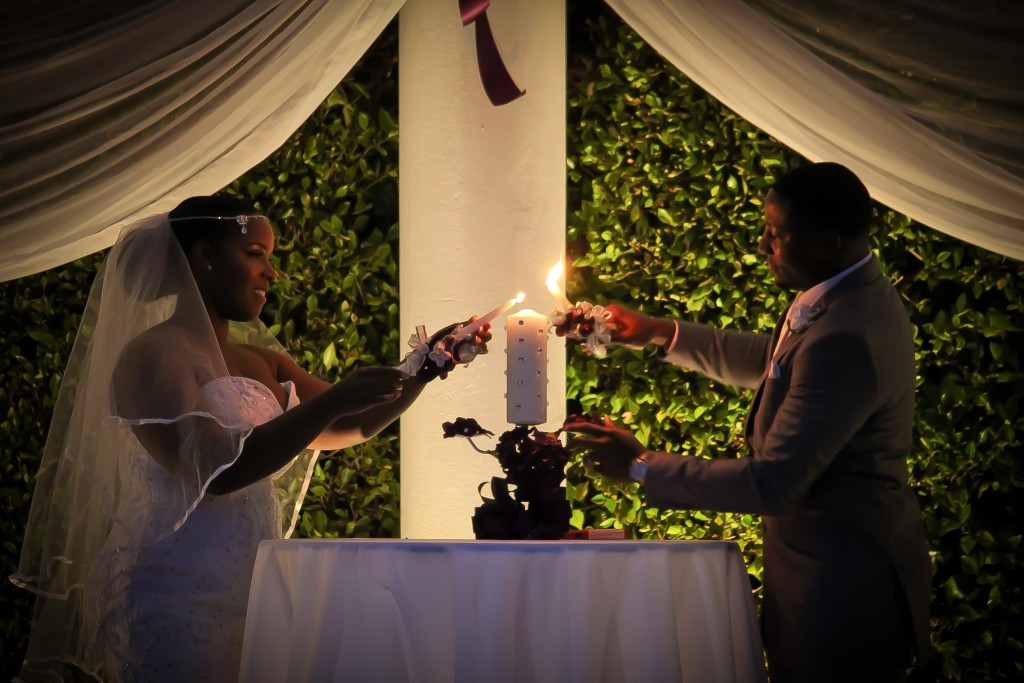 Crystal and Adam Candle Ceremony