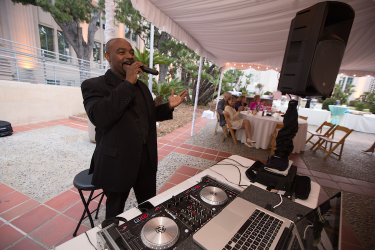 Dj MC wedding