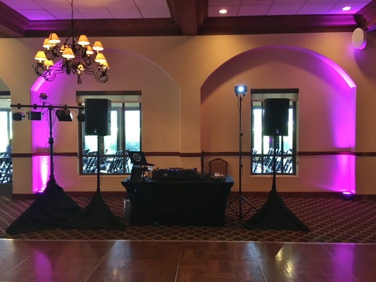 San Diego DJ Reception