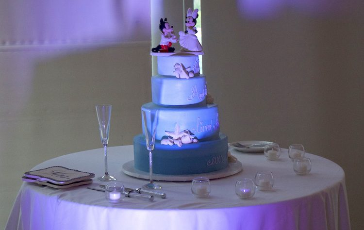wedding cake dj san diego