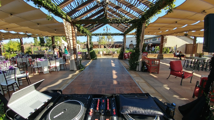 wedding dj europa venue