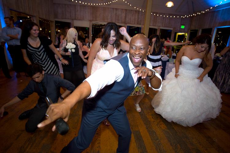 fun wedding dj misson bay