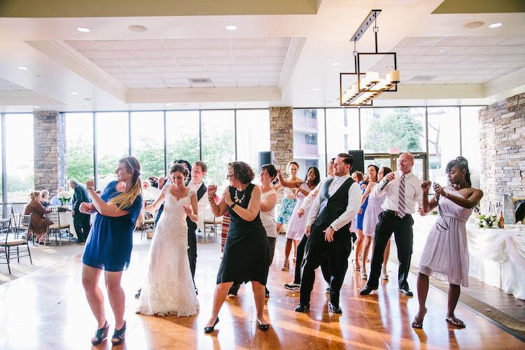line dance dj wedding