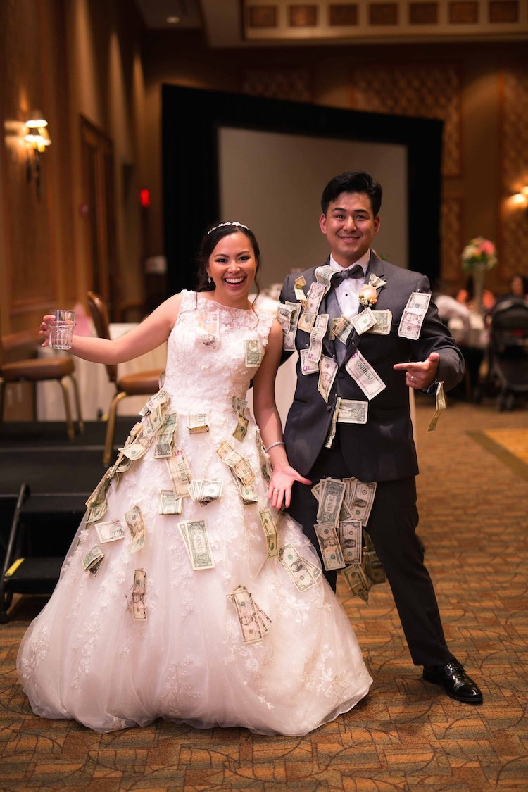 money dance wedding