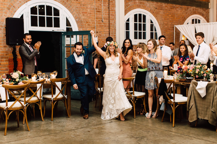 Bride and groom Grand entrance dj