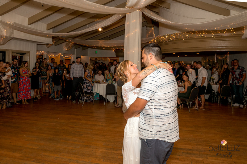 dance floor first wedding