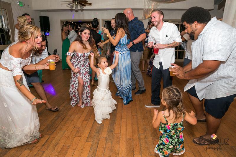 small wedding dance
