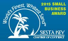 Siesta Key Chamber Small Business Award