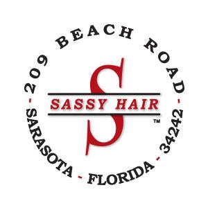 sassy hair logo